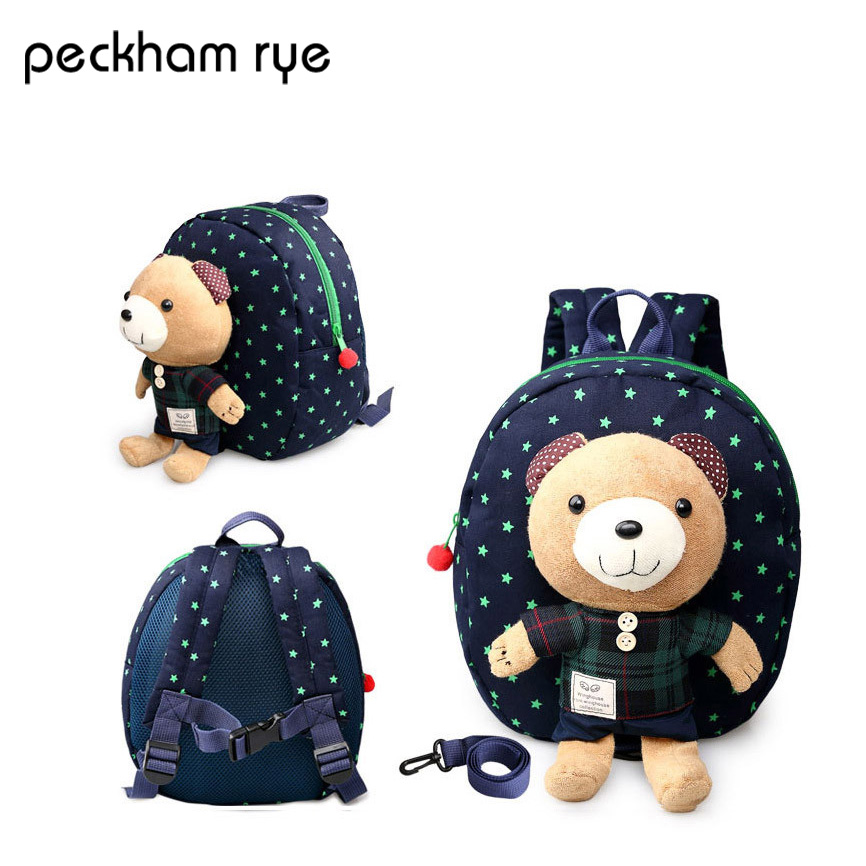 PECKHAMRYE toddler backpack for children kids baby s bags Boys Girls Babies School Bags Animal Backpacks
