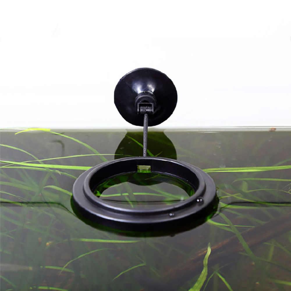 דגי האכלת אקווריום דגי טנק טבעת מזין תחנת צף מזון מים צמח ציפה מעגל 1 pcs האכלת טבעת אקווריום דגים