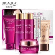 Bioaqua Mo Ju Hu Quan Kit Set Water Booster Moisturizing White Kit Set Skin Care Set
