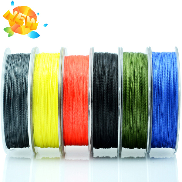 Wholesale 100m high quality pe monofilament braided for Bulk braided fishing line