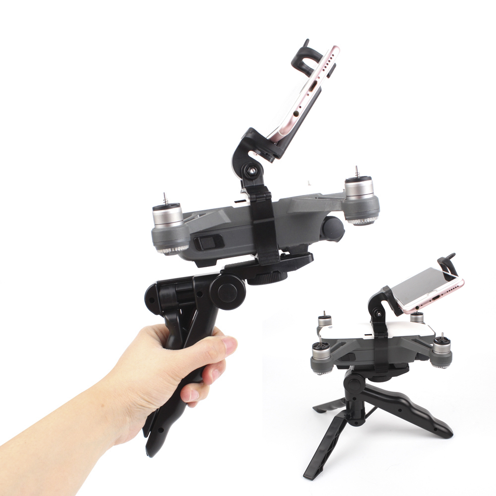 Handheld Tripod Multi-function Holder For DJI Spark Drone Handheld Gimbal Stabilizer Camera Spare Parts Supports Mount