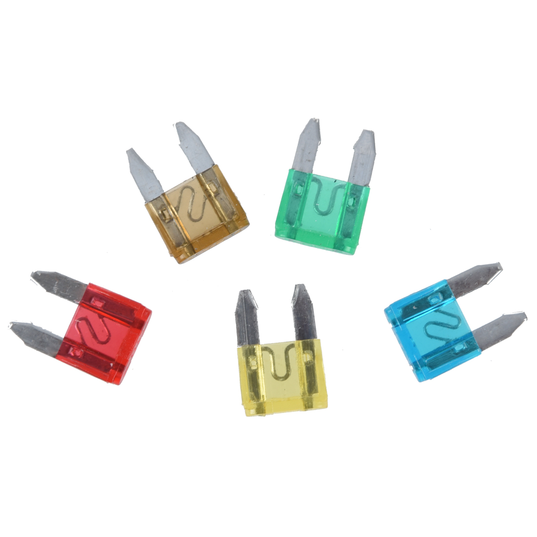 20 pcs Car Motorcycle Mini Fuses Blade Fuse Safety