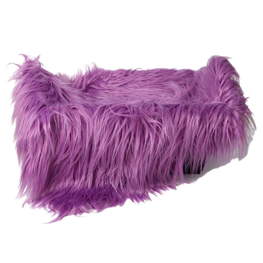 Baby Newborn Faux Fur Photography Photo Props Blanket Basket Stuffer Rug Beanbag Background Backdrop Purple