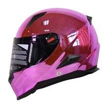 Топ хром мотоциклетный шлем мотоцикл каско capacete де moto езда по бездорожью шлем безопасности ff863