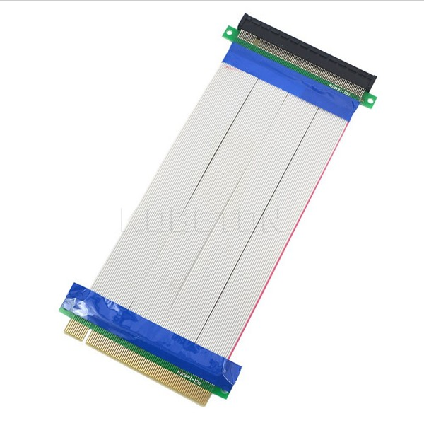 PCI-E 16X to 16X riser card adapter extender cable PCI E 16 X Pci Express Flexible riser 20CM 1X 4X 8X 16X pci express pci e 8x to 16x riser card extender ribbon cable 15 5cm