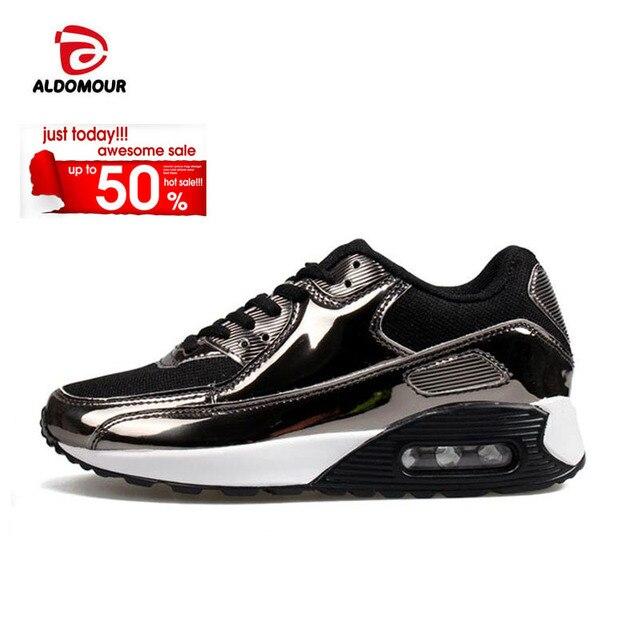 Mannen Ademende 2018 Vrouwen Aldomour Sneakers Man Sportschoenen jR4A53L
