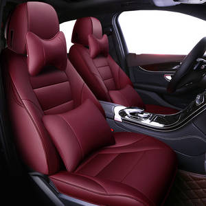 Auto Universal Cowhide Leather Seat Cover For Infiniti QX50 EX35 FX30 FX50 G25 G37