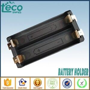 Image 2 - 4 ピース/ロット 2 単三電池ホルダー SMD SMT 高品質電池ボックスとブロンズピン TBH 2A 2A SMT