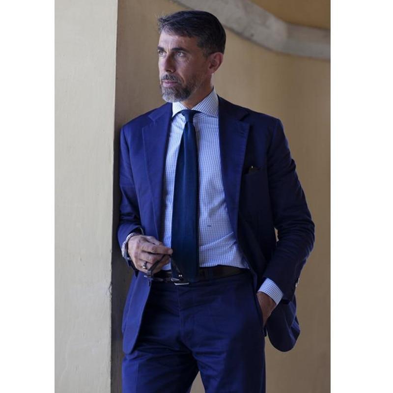 Trajes de hombres de vestir terno boda Trajes para hombres Esmoquin solapa  padrinos 2 unidades slim fit novios (chaqueta + pantalones) 33d18a19c67