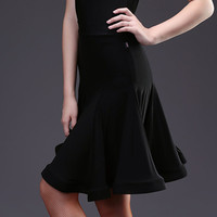 Fashion Ballroom Woman Latin Dance Skirt Tango Costume Sexy Rumba Samba Dance Skirt For Women Training
