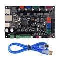 Деталь для 3D-принтера MKS SBASE V1.3  плата контроллера с открытым исходным кодом  32 бита  Smoothieboard  поддержка предустановленного радиатора Ethernet