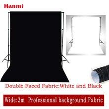 Hanmi 1 м* 2 м черно-белые полосатые фоны тканевые Фотостудия Освещение Chroma ключ фотографии фоны Рождество фоны