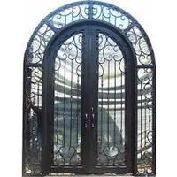decorative wrought iron security doors texas iron doors