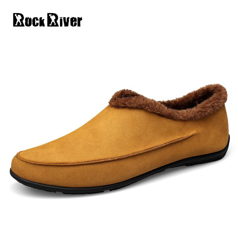 2017 Big Size 37-48 Cow Suede Warm Fur Winter Shoes Men Slip-on Mens Shoes Casual Loafers Flats Moccasins Plush Men Shoes npezkgc new arrival casual mens shoes suede leather men loafers moccasins fashion low slip on men flats shoes oxfords shoes