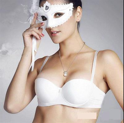BRZFMRVL Fashion Women Bra adjustable Strapless super Push Up bra big size seamless <font><b>sexy</b></font> Bra thicken <font><b>1</b></font>/<font><b>2</b></font> cup t <font><b>shirt</b></font> wedding bra image
