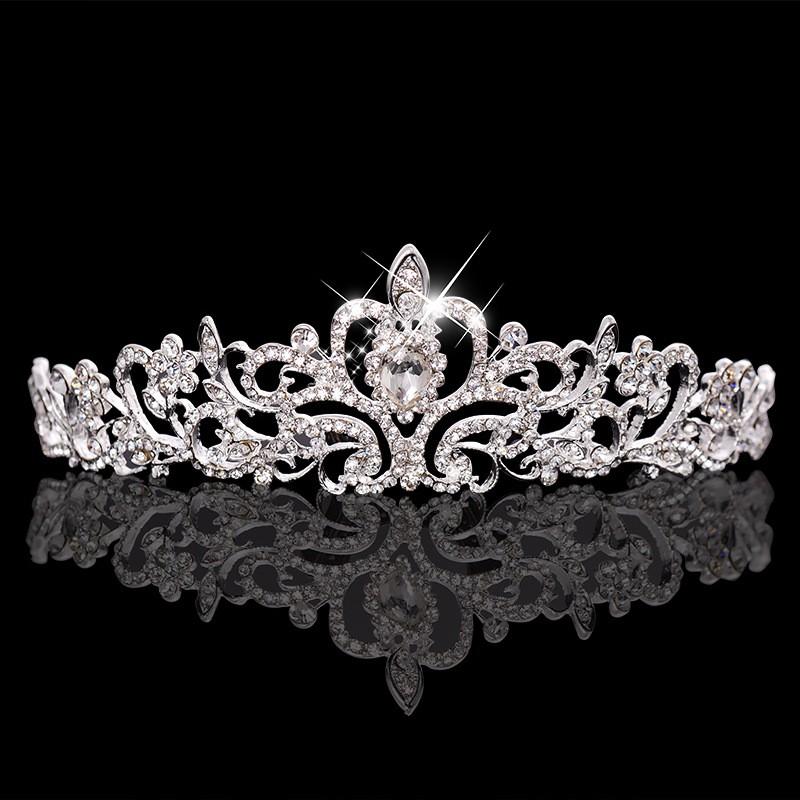 HTB1mRISLXXXXXbAXpXXq6xXFXXXJ Magnificent Bridal Prom Pageant Crystal Inlaid Queen Tiara Crown - 2 Styles