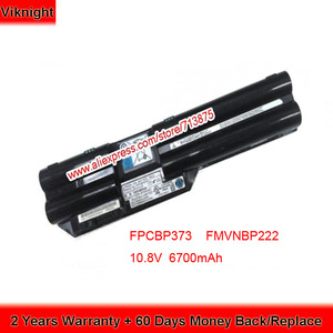 Подлинная 10,8 V 6700mAh FMVNBP222 FPCBP373 батарея для Fujitsu Lifebook T732 T734 T902 T901