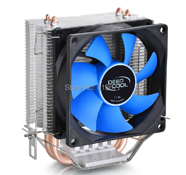 2 heatpipe, for Intel LGA775/1155/1156/1150, for AMD FM1/FM2/AM3+/AM2+, CPU radiator CPU Fan, DeepCool ice mini Ultimate deepcool mini cpu cooler 2pcs 8025 fan double heatpipe radiator for intel lga 775 115x for amd 754 940 am2 am3 fm1 fm2 cooling