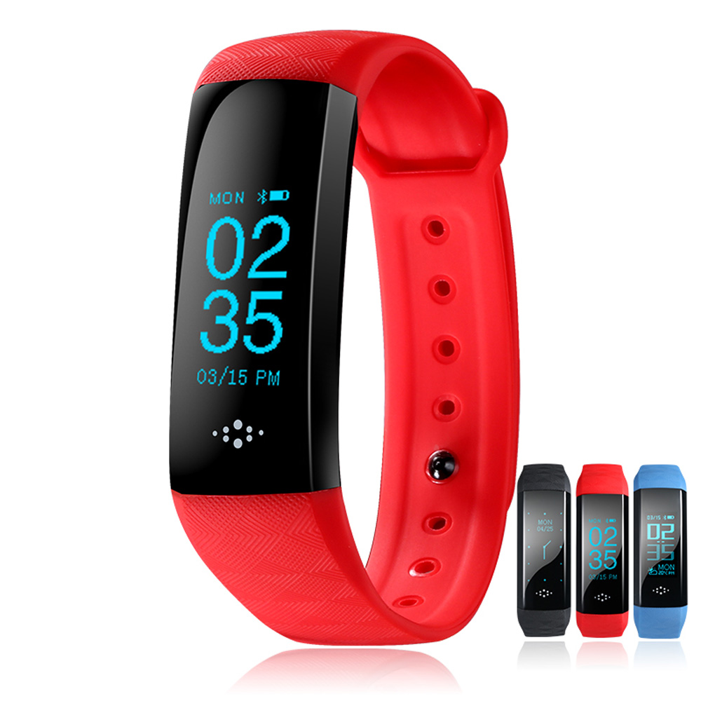New Oxygen Blood Pressure Bluetooth Smart Band Wristband for Android4 4 Above and IOS8 0 Above