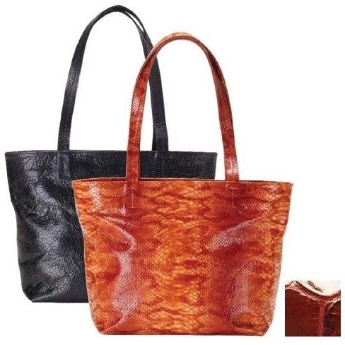 Raika NI 152 RED Zip Tote Bag - Red
