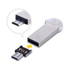 Il trasporto libero Nuovo DM adattatore OTG 50 pz/lotto OTG funzione Turn USB normale nel Telefono USB Flash Drive Cellulare adattatori