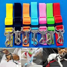 Cat Pet Safety Belt Vehicle Car Dog Seatbelt Adjustable Harness Anti-lost dog  portable  belt