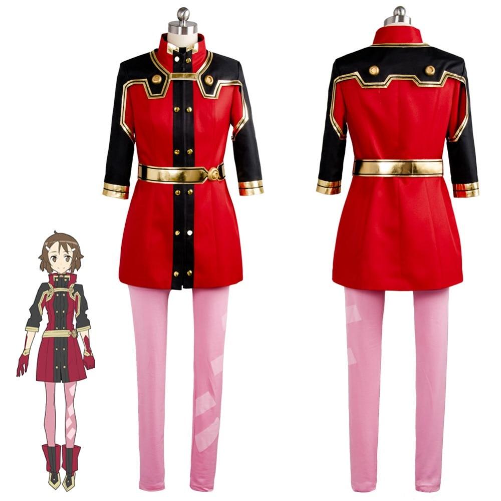Sword Art Online SAO the Movie Ordinal Scale Lisbeth Shinozaki Cosplay Costume