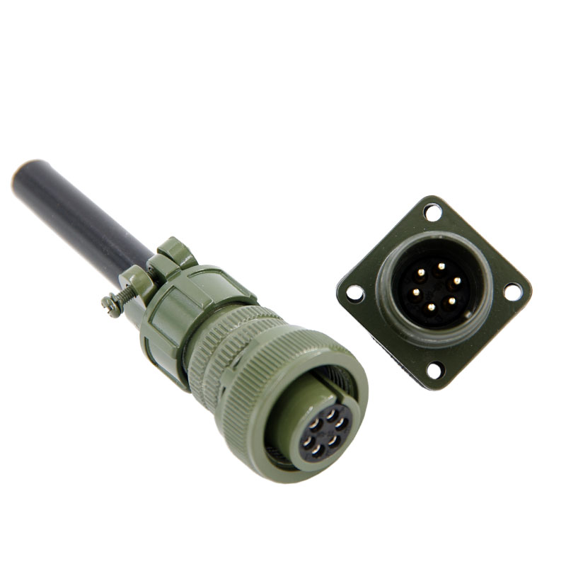 Military standard connector 6pins 5015 connector 1PCS MS3106 3102 14S-6p Servo motor connector