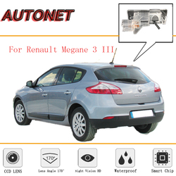 Kamera cofania AUTONET dla Renault Megane 3 III 2008 ~ 2016/Night Vision/CCD/kamera cofania/kamera cofania/kamera na tablicę rejestracyjną licencji