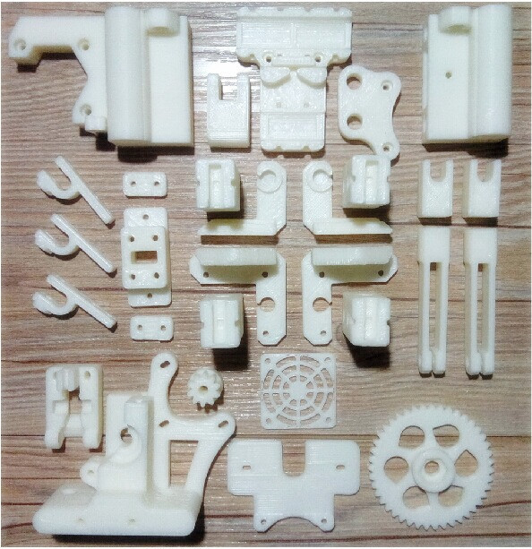 цены  Free shipping 3D Printer Reprap Prusa i3 ABS plastic kit for 3d printer reprap