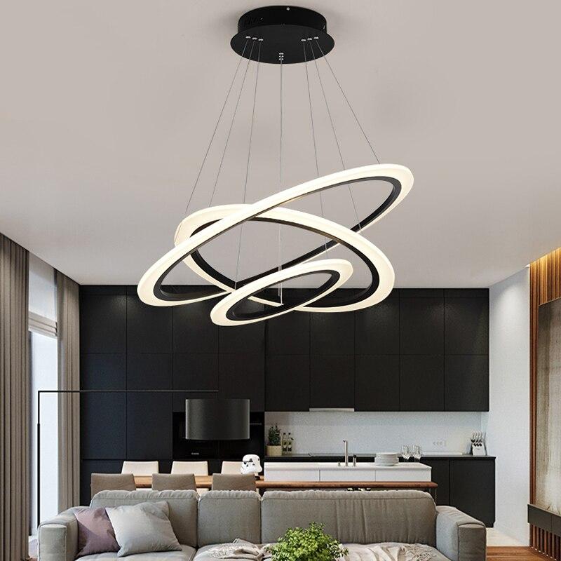 Moderno led lampadario per soggiorno sala da pranzo apparecchio di suspendu decorazione della - Lampade a led per cucina ...