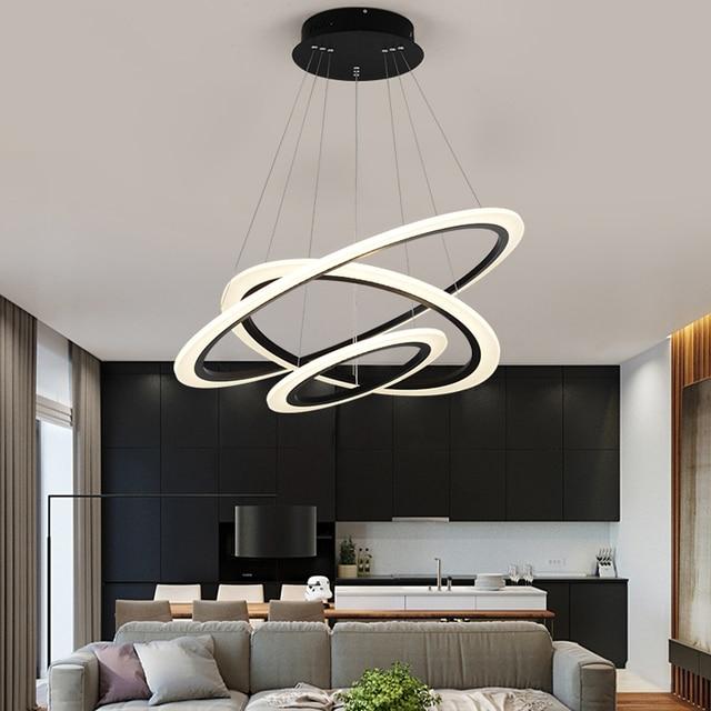 Minimalismo Moderno Led lampade a Sospensione per la sala da pranzo camera  letto cucina lampada nordic sospensione apparecchio flesh luce