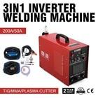 Vevor CT520D Plasma Cutter TIG Stick Welder 3 in 1 Combo Welding Machine