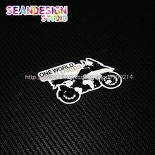 For BMW GS Adventure F700GS F800GS R1150 R1200GS ADV ONE WORLD ONE GS helmet motorcycle Stickers moto Decals Waterproof 22