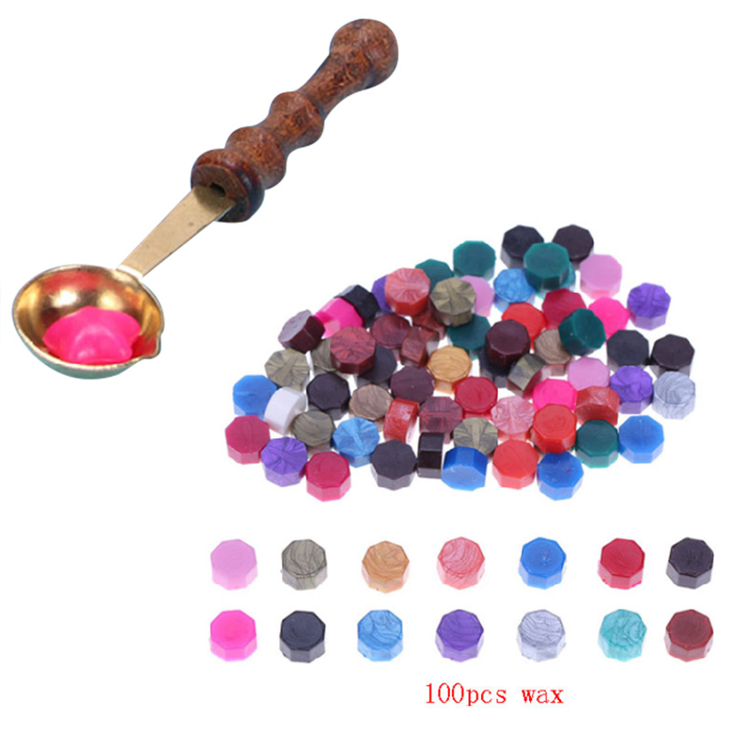 100pcs/lot Vintage Sealing Wax Tablet Pill Beads for Envelope Wax Seal Sticks for Envelope Wedding Wax Seal Ancient Sealing Waxs simline vintage 100