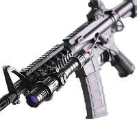 Прямая доставка страйкбол Регулируемый пистолет зеленый лазер указка для Открытый Охота и спортивных лазерный прицел
