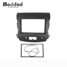 For MITSUBISHI Outlander Radio DVD Stereo Panel Dash Double Din fascia Mounting Installation Trim Kit Face Frame