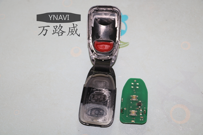 High Quality 2+1 Buttons Replacement Remote Control Key With 433Mhz Alarm Keyless Button For Hyundai New Tuscon Free Shipping