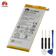 HUAWEI HB4242B4EBW Genuine Battery For Huawei  H60-L11 H60-L04 honor 4X Honor 6 H60-L01 H60-L02 3000mAh Phone Battery + Tool free shipping white or black lcd display touch screen digitizer assembly for huawei honor 6 h60 l02 h60 l12 h60 l04