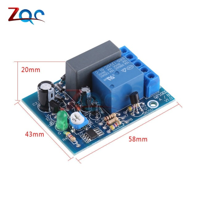 AC 220V Timer Relay Delay Switch Input/Output Delay Off Switch Module Adjustable 0-10Sec 10Min 10Hr 100Min Timing Turn Off Board