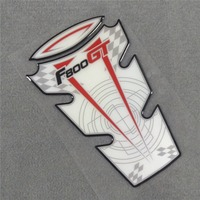 Motorcycle For BMW F800GT F 800 GT F800 Universal 3D Tank Pad Sticker Decal Oil Cover