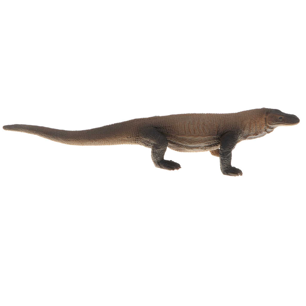 7.3 ''Figura de Ação de Animais Silvestres, Monitor Lagarto Réptil Plástico Estatueta Modelo Toy Kids Presente de Natal, Collectible, decoração Da Sua casa