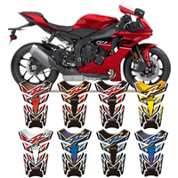For Yamaha YZF R1/R1S R1M R6/R6S R3 R15 R7 Universal Motorcycle 3D Tank Pad Protective Cover Decals Stickers