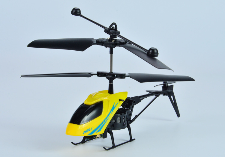 Mini Helicopter Crash Aircraft 2