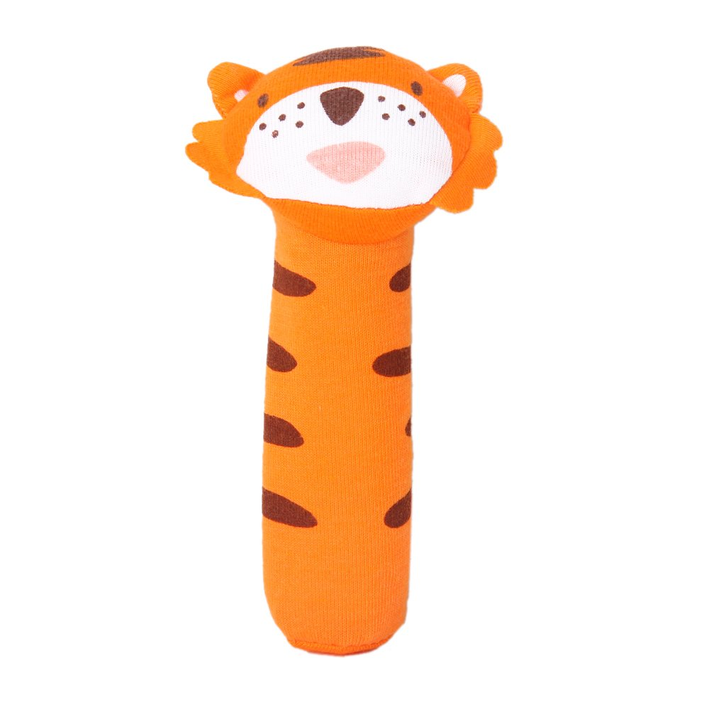 Wholesale!Baby toy in the shape of Tiger bar with Rattle Sound Fabric Toys ...