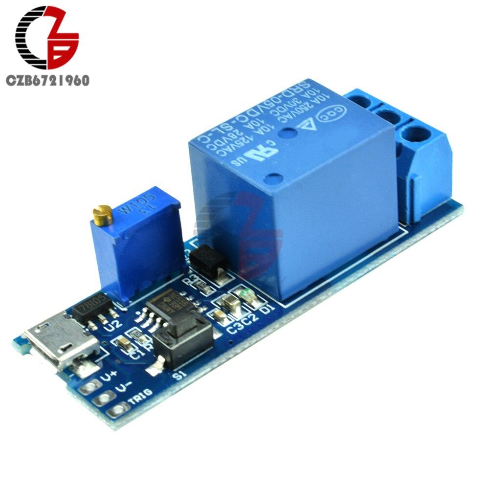 Acuario sumergible Mini bomba de agua y titular de la batería y Relé Raspberry Pi.
