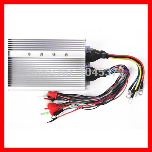 48V/60V 1800W 18 mosfet BLDC Universal Brushless DC Motor controller for motorcycle,electric-bike,scooter kbs48101x 40a 24 48v mini brushless dc controller