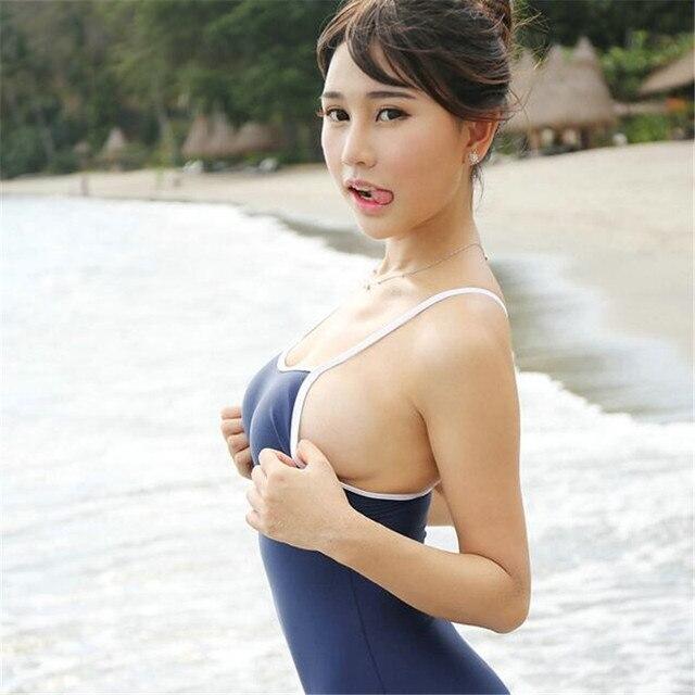 Women One Piece Bikinis Style Sexy Underwear,Small Sling Cute Girl ...