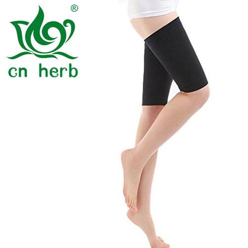 CN Herb 1 Pair Women Fat Burn Elastic Slimming Leg Socks, Massager Compression Thigh Leg Shaper Wrap Belt