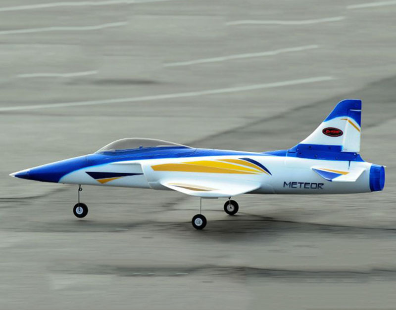 Dynam 1100MM Meteor 70mm EDF RC RTF Plane W/ Motor ESC Servos Battery